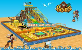 百万海洋球池滑梯乐园【1000平方】