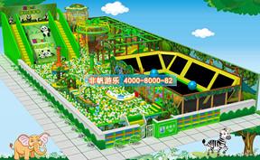 百万海洋球池滑梯乐园【300平方】
