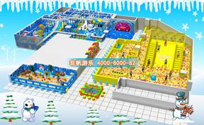 百万海洋球池滑梯乐园【500平方】