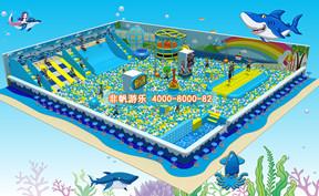 百万海洋球池滑梯乐园【600平方】