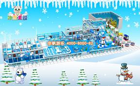 儿童淘气堡冰天雪地风格[450平方]
