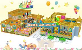 儿童淘气堡城堡风格主题【220平方】