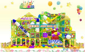 儿童淘气堡城堡风格主题【250平方】