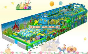 儿童淘气堡城堡风格主题【260平方】