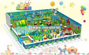 儿童淘气堡城堡风格主题【350平方】