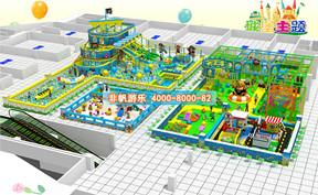 儿童淘气堡城堡风格主题【850平方】