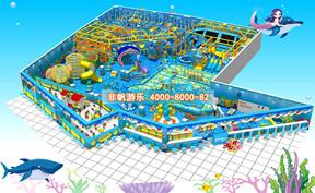 儿童淘气堡海洋海盗风格【600平方】