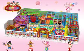 儿童淘气堡马戏团风格主题【200平方】