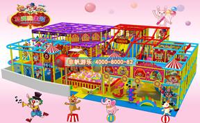 儿童淘气堡马戏团风格主题[250平方]