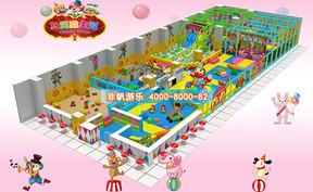 儿童淘气堡马戏团风格主题【270平方】