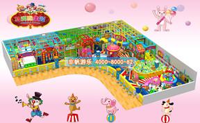 儿童淘气堡马戏团风格主题【400平方】