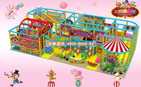 儿童淘气堡马戏团风格主题【80平方】