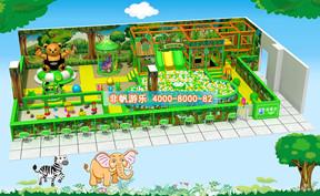 儿童淘气堡森林动物风格【170平方】