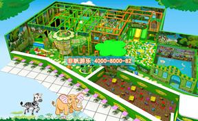 儿童淘气堡森林动物风格【350平方】