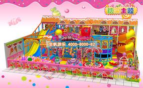 儿童淘气堡糖果缤纷风格[160平方]