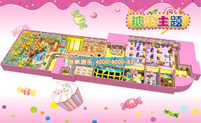 儿童淘气堡糖果缤纷风格[2000平方]