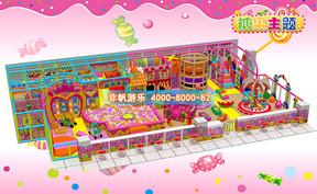 儿童淘气堡糖果缤纷风格[220平方]